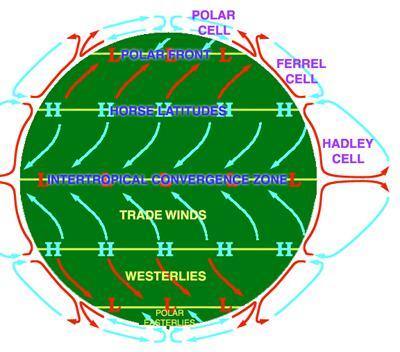 World Wind Patterns
