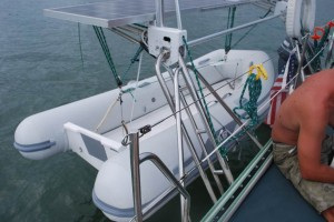 The new dinghy
