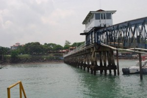 Long pier used by the yachties and tugboaters
