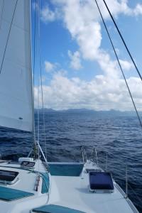 Approaching Suva, Fiji