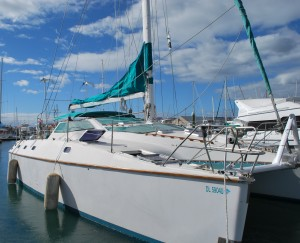 Pura Vida is ready to sail